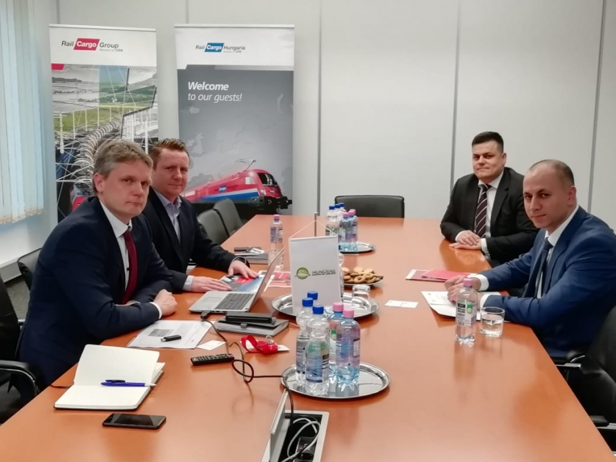 """ADY Container"" starts cooperation with ""Rail Cargo Hungary"""